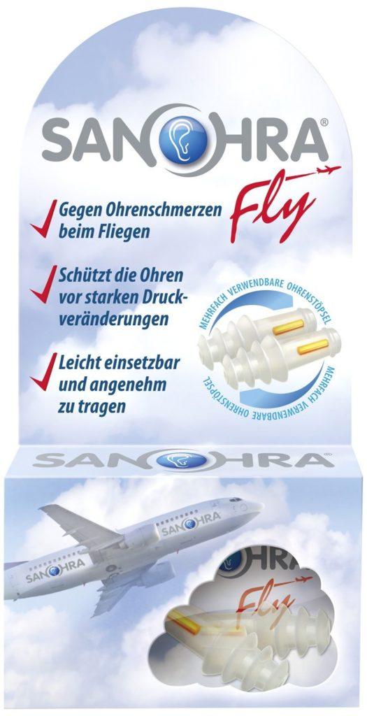 Ohrstöpsel zum Fliegen - SANOHRA Fly